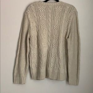 Eddie Bauer Sweaters - EDDIE BAUER | cable knit chunky sweater